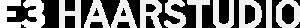 E3 Haarstudio Bad Homburg Logo